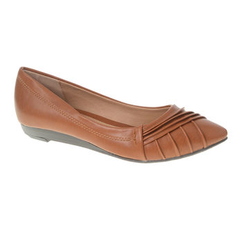 CL by Laundry Saleema Shoes in Cognac Vegan Leather