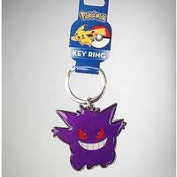 Pokemon Gengar Keychain - Spencer's