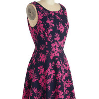 ModCloth Mid-length Sleeveless A-line Lanai for Gardening Dress