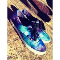 Vans Galaxy Lace-Up Shoes