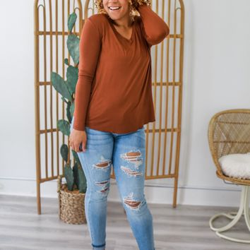 Feel Good Top - Copper