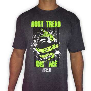 Don't Tread On Me men's workout t-shirts from 321 Apparel