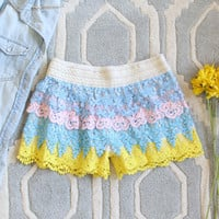 Love Me Not Lace Shorts