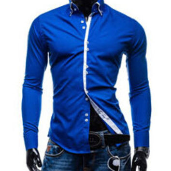 Tops Western Men's Casual Shirts