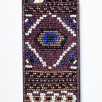 Womens Laos Beaded iPhone 5 Case