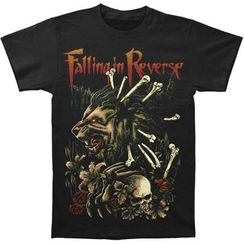 Falling In Reverse Men's  Wilderness T-shirt Black Rockabilia