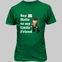 Say Hello To My Little Friend - Unisex T-Shirt FRONT Print