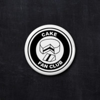 Cake fan club button