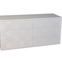 Wave Dresser Double White