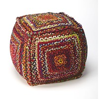 Butler Specialty Accent Seating Gypsy Pouffe