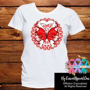 Lung Cancer Stunning Butterfly Shirts