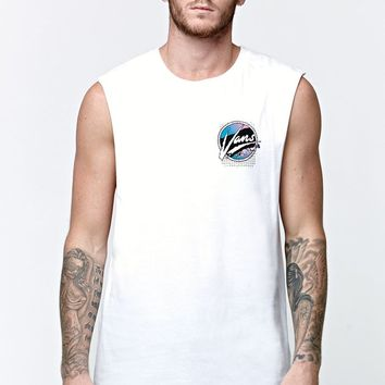 Vans Shake Down Tank Top - Mens Tee - White