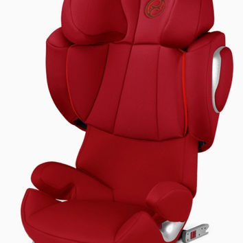 Cybex Solution Q2-Fix High Back Booster Child Safety Car Seat Hot & Spicy