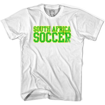 South Africa Soccer Nations World Cup T-shirt-Adult