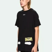 Cheap Women's and men's OFF-WHITE t shirt for sale 85902898_0186
