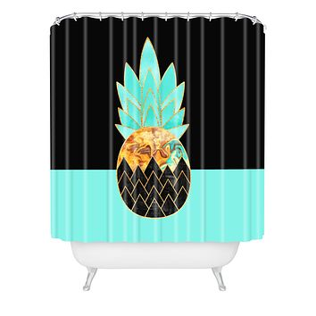 Elisabeth Fredriksson Precious Pineapple 1 Shower Curtain