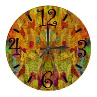 Abstract Clock from Zazzle.com