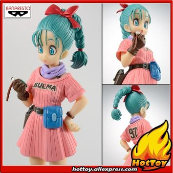 "Sale 100% Original Banpresto Scultures Colosseum BIG Zoukei Tenkaichi Budoukai 7 Vol.5 Collection Figure - Bulma ""Dragon Ball"""
