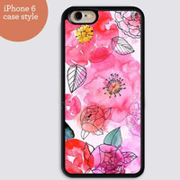 iphone 6 cover,hot pink flowers colorful iphone 6 plus,Feather IPhone 4,4s case,color IPhone 5s,vivid IPhone 5c,IPhone 5 case 132