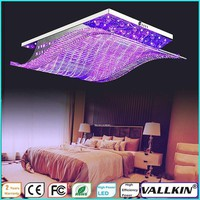 Contemporary Crystal Ceiling Chandeliers Lamps  30W LED Ceiling Lamp Office Pendant Lamp Fixtures LED VALLKIN LIGHTING