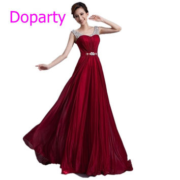 Turquoise Sleeveless Beading Wine Red Floor Length Long Plus Szie A line Party Evening Dresses 2016 New Arrival Formal Dresses