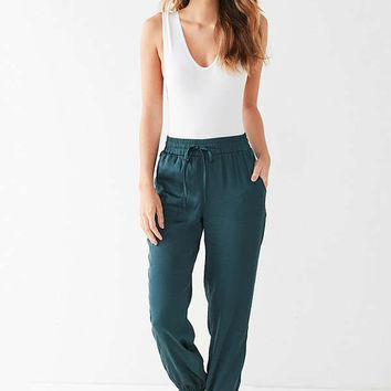 Out From Under Matilda Satin Jogger Pant | Urban Outfitters