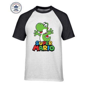 Super Mario party nes switch Hot High Quality Cotton Swag  Bros Yoshi Funny T Shirt for men AT_80_8