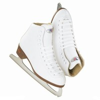 Riedell 110 RS Women Figure Skates - Size 4