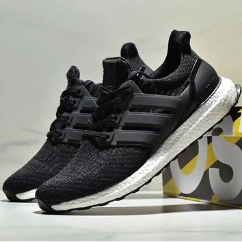ADIDAS ULTRABOOST Popcorn knitted running shoes