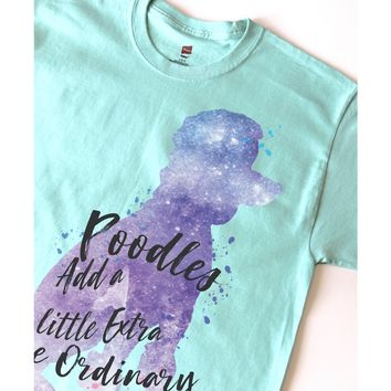 """Any Breed Galaxy Silhouette - Quote """"Add a Little Extra..""""  Shirt"""