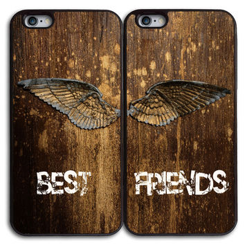 Best Friends Matches Case for iPhone and Samsung Series,Two Differrent Phone Models Mixed OK