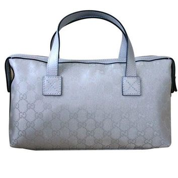 ESBON3F Gucci Boston Bowling Bag Canvas Handbag 264210