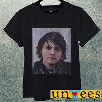 Low Price Men's Adult T-Shirt - Gerard Way My Chemical Romance design