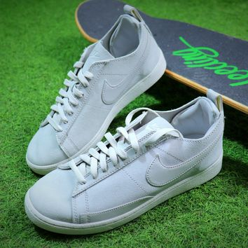 Nike Blazer Sb White Men Sport Suede Shoes - Best Online Sale