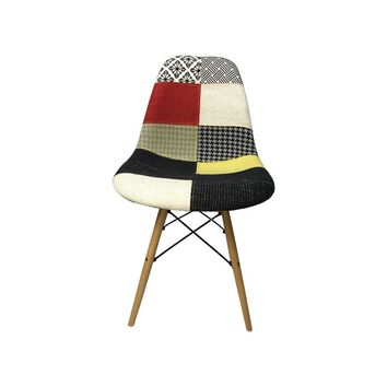 DSW Eiffel Patchwork Chair - F - Reproduction