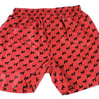 Retrievers Red Men's Boxer, Pajamas