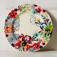 Sissinghurst Castle Dinner Plate by Anthropologie in Multi Size: Dinner Dinnerware
