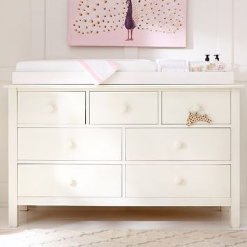 Kendall Extra Wide Dresser & Topper Set | Pottery Barn Kids