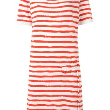 Barrie Striped Shortsleeved Knit Dress - Le Louvre - Farfetch.com