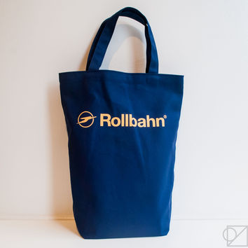 DELFONICS Rollbahn Canvas Tote Bag