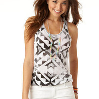 Tribal Racer Back Tank