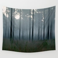 cold rain Wall Tapestry by Black Winter
