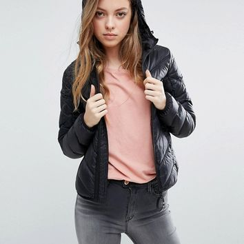 G-Star Alaska Down Feather Jacket with Hood at asos.com