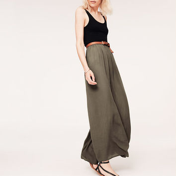 Lou & Grey Crinkle Maxi Dress