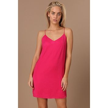 A Night To Remember Dress - Hot Pink