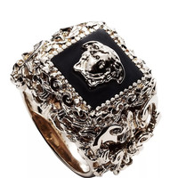 VERSACE MEDUSA HEAD RING