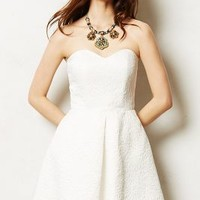 Snowmeadow Dress by Anthropologie Cream 12 Dresses