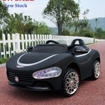 ON SALE!! Lowest 75 Days time! Hot-selliing Maserati Children Electric Car Ride On with Remote Controller and Blue Headlight