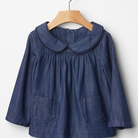 Gap Baby Denim Pocket Top