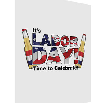 Labor Day - Celebrate Matte Poster Print Portrait - Choose Size